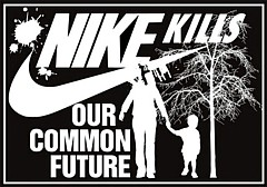 NIKE kills our common future